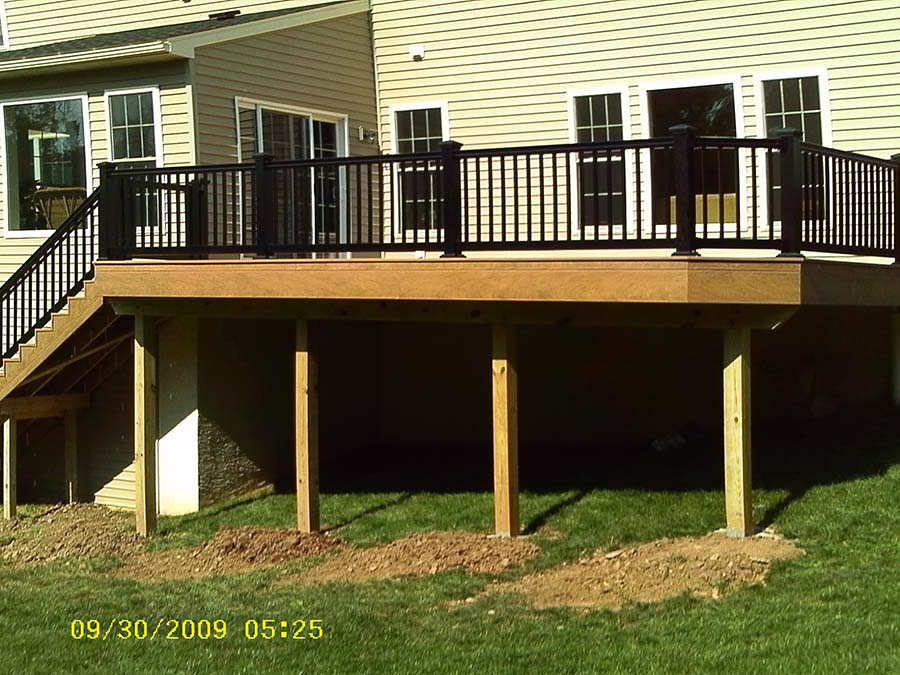 Spring City Clubhouse Decking Deck Craft Llc