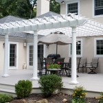 Pergola on Composite Deck