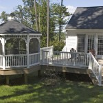 Screened-In Deck Gazebo