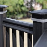 Solar Lights in Railing