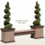 Double Lincoln Deck Decorating Ideas