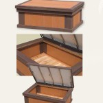 The Gettysburg Storage Box Backyard Deck Ideas