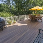 new faux wood wolf deck