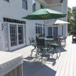 wood vinyl outdoor deck