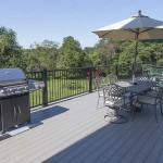 furnished outdoor patio deck