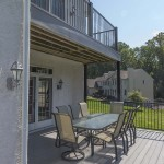 vinyl outdoor home deck