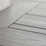 close up of vinyl decking