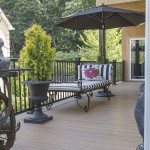 furnished outdoor vinyl deck