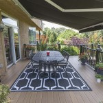clubhouse deck with wrought iron table