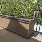 planter boxes for outdoor clubhouse deck