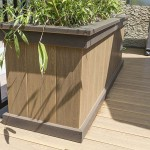 side of clubhouse planter box