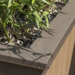 edge of clubhouse deck planter box