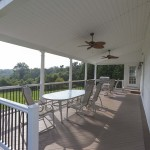 faux wood home deck in chester county