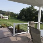 newly installed azek deck in chester county