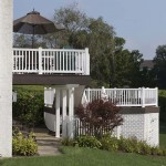 two story clubhouse deck in glenmoore pa