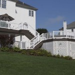 clubhouse deck and pool in glenmoore pa