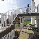 two story deck building project in glenmoore pa