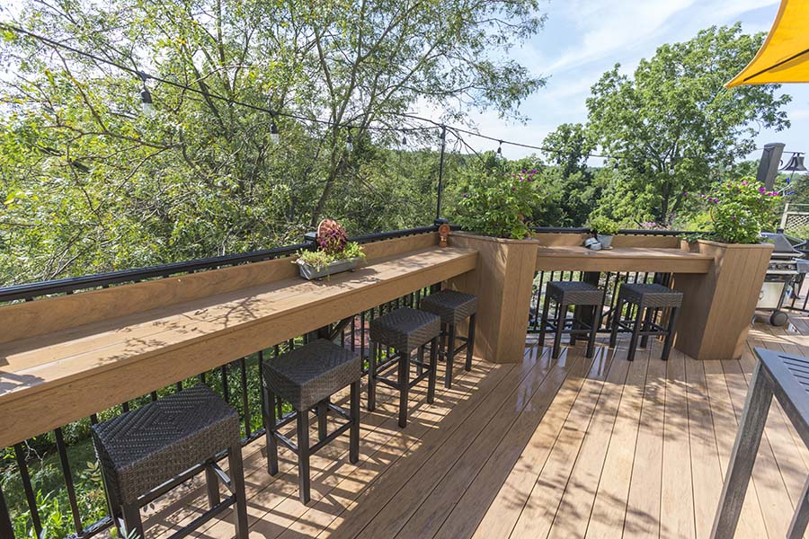 Downingtown Pa Clubhouse Decking Deck Craft Llc