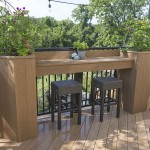 one story clubhouse deck