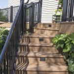 amish built clubhouse deck stairs