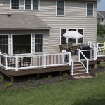 attached outdoor deck