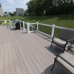 newly completed vinyl deck