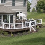 attached home deck