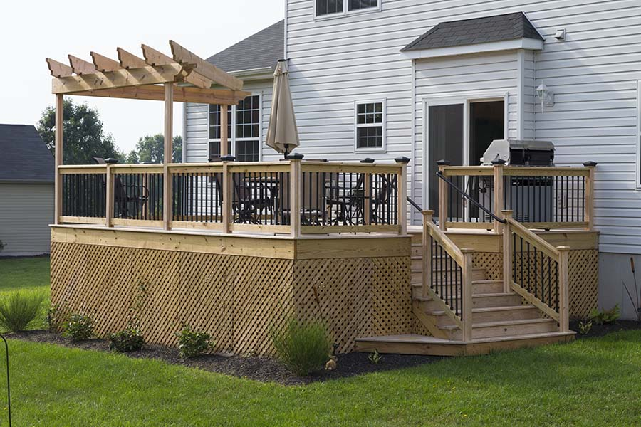 Pressure Treated Decking Spring City Pa Deck Craft Llc