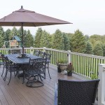 outdoor patio furniture on clubhouse deck