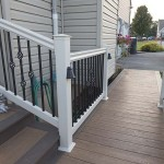 clubhouse deck walkway and staircase