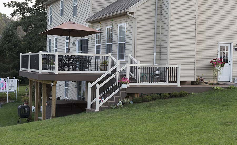 Clubhouse Decking Honey Brook Pa Deck Craft Llc