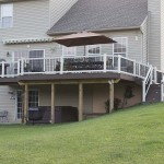 two story clubhouse deck