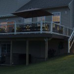 deck staircase lights