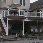 two story home deck
