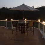 new azek deck with white railing