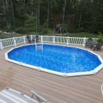 pool wolf decking patio