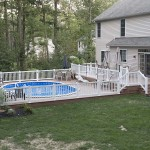 two story wolf pool deck