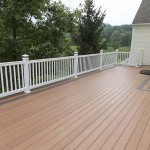 azek decking on home