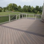 tan new construction deck