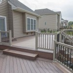 attached wolf deck and patio in chester county