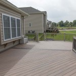 newly completed amberwood wolf deck