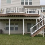 wolf deck staircase and deck