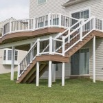attached two story wolf deck