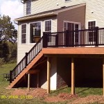 Vinyl deck installed by Spring City deck installers Deck Craft Plus