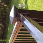 Deck railing system installed by Deck Craft Plus